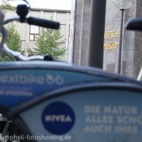 nextbike-Nivea-Kampagne 2012 in München am Deutschen Museum