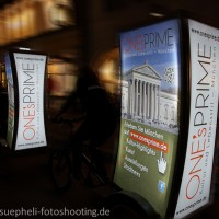 Mobiles CityLight in Aktion
