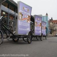 Milka Campaign in Munich 1